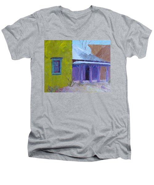 The Color Purple Men's V-Neck T-Shirt