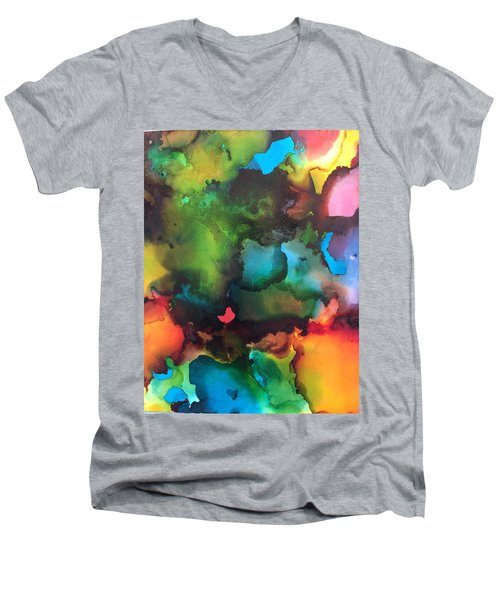 The Color Wheel Men's V-Neck T-Shirt