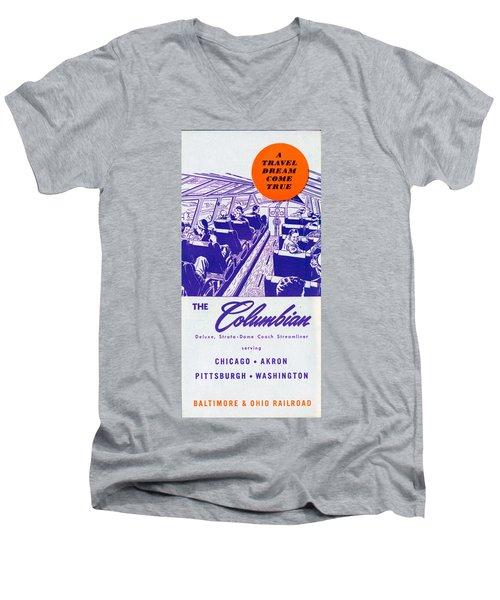 The Columbian Men's V-Neck T-Shirt