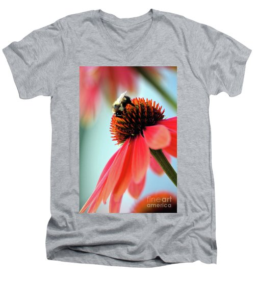 The Coneflower Collection 2 Men's V-Neck T-Shirt