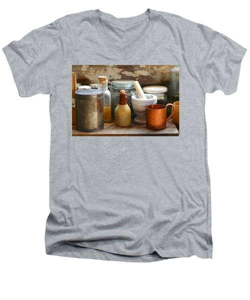 The Copper Cup Men's V-Neck T-Shirt
