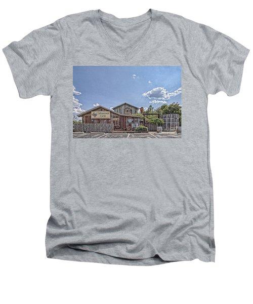 The Cotton Gin Village Men's V-Neck T-Shirt