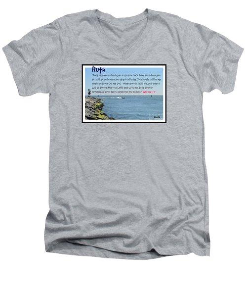 The Covenant Promise Men's V-Neck T-Shirt