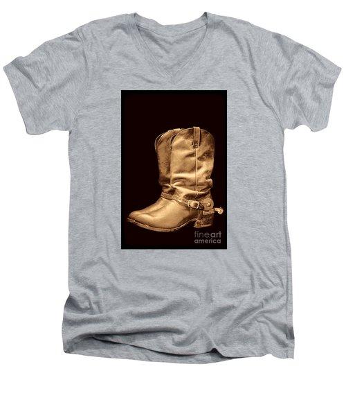 The Cowboy Boots Men's V-Neck T-Shirt