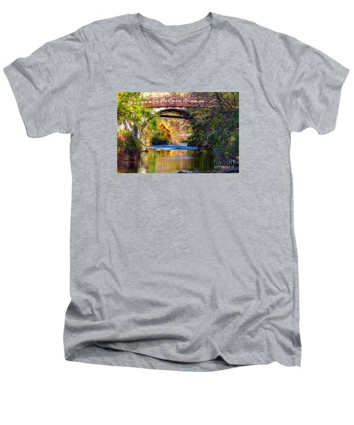 The Creek Men's V-Neck T-Shirt