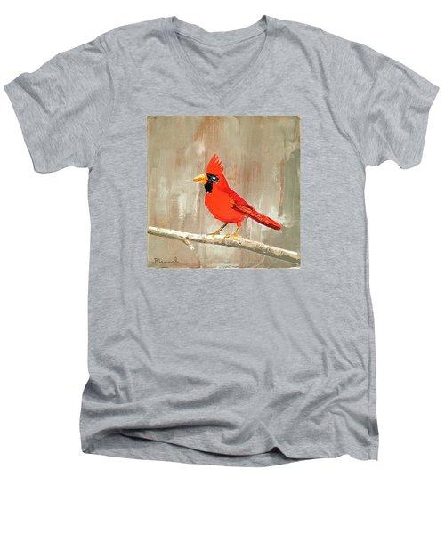 The Crooner Men's V-Neck T-Shirt