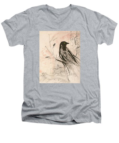 The Crow  Men's V-Neck T-Shirt