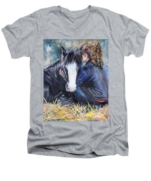 The Cuddle Men's V-Neck T-Shirt