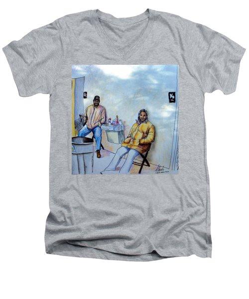 The Custodians Men's V-Neck T-Shirt