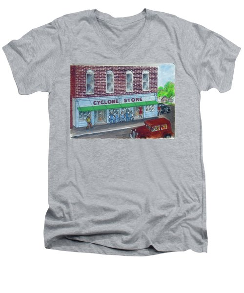 The Cyclone Store 1948 Men's V-Neck T-Shirt