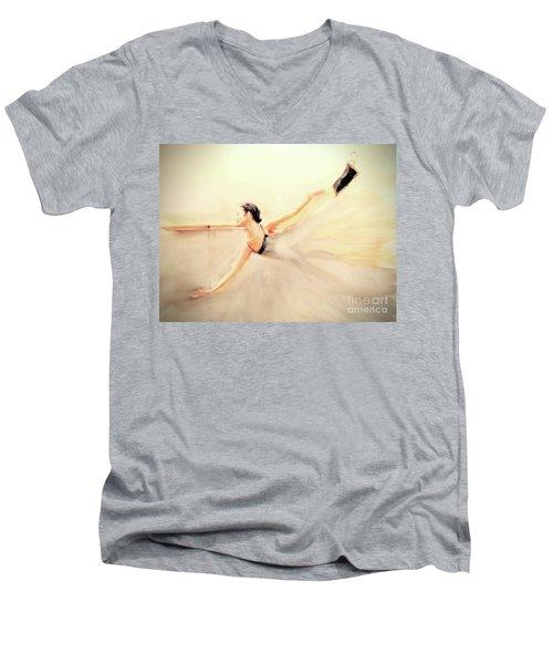The Dance Of Life Men's V-Neck T-Shirt
