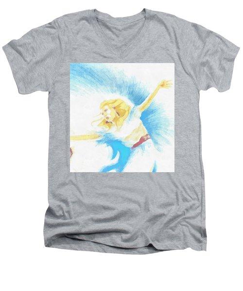The Dancer Men's V-Neck T-Shirt