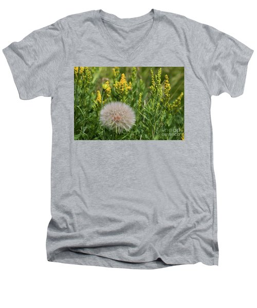 The Dandelion  Men's V-Neck T-Shirt