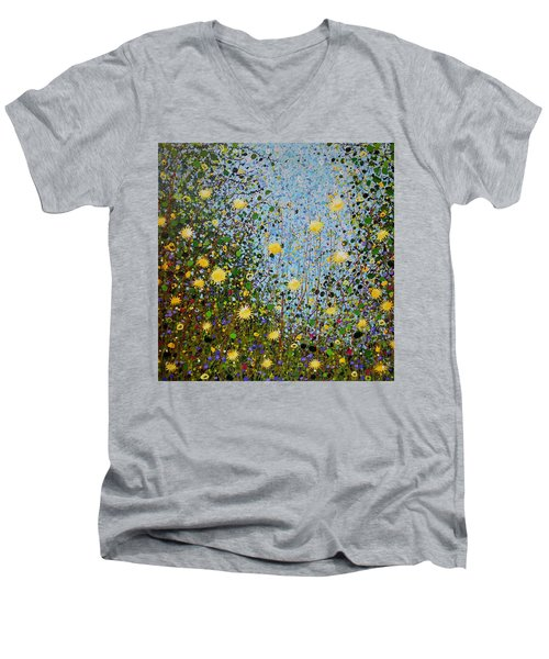 The Dandelion Patch Men's V-Neck T-Shirt