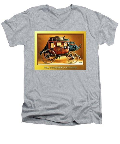 The Daugherty Express Men's V-Neck T-Shirt