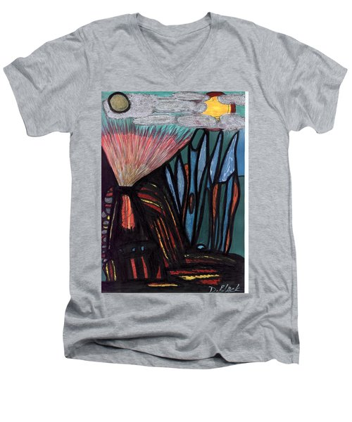 The Dawn Of Formation Men's V-Neck T-Shirt by Darrell Black