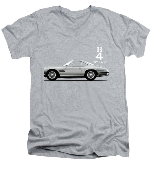 The Db4gt Jet Men's V-Neck T-Shirt