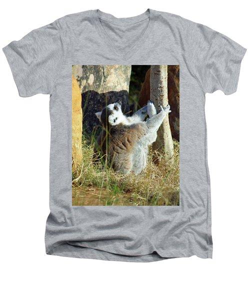 The Debate Men's V-Neck T-Shirt