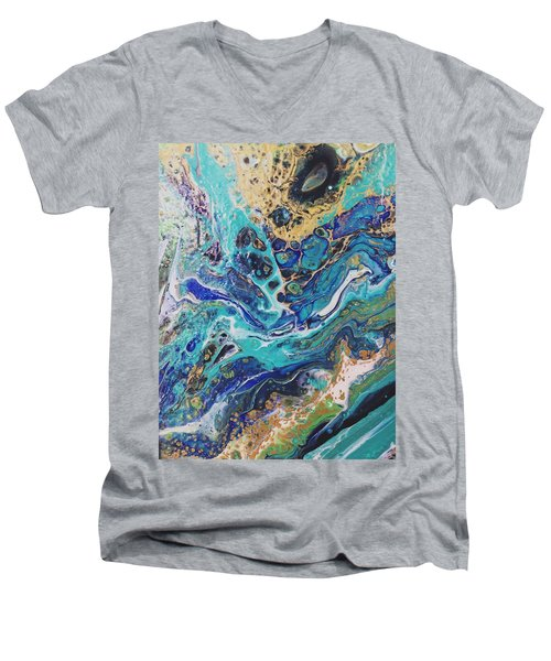 The Deep Blue Sea Men's V-Neck T-Shirt