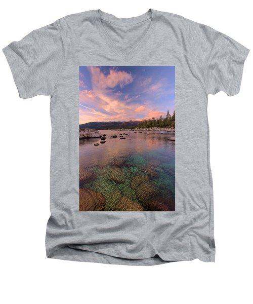 The Depths Of Sundown Men's V-Neck T-Shirt