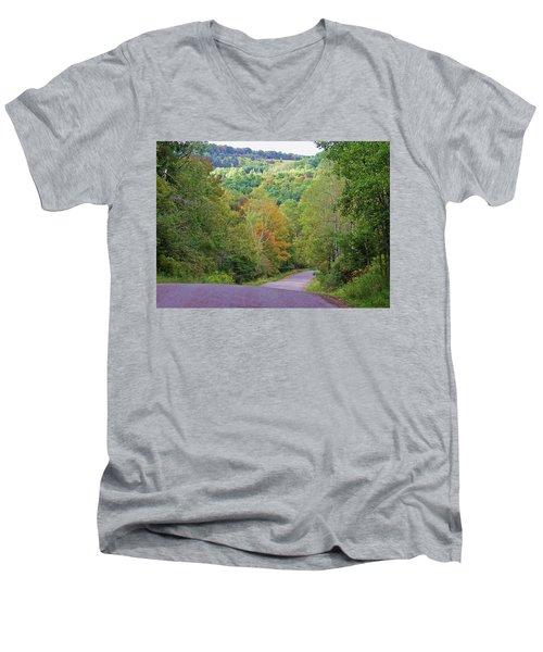 The Descent Men's V-Neck T-Shirt