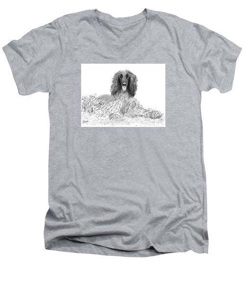 The Diva Men's V-Neck T-Shirt