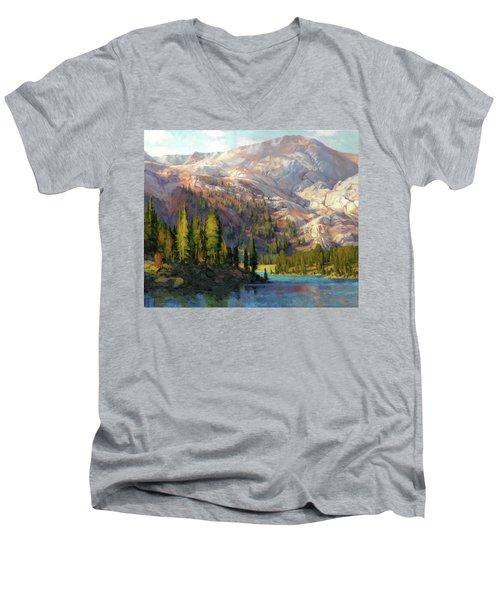 The Divide Men's V-Neck T-Shirt