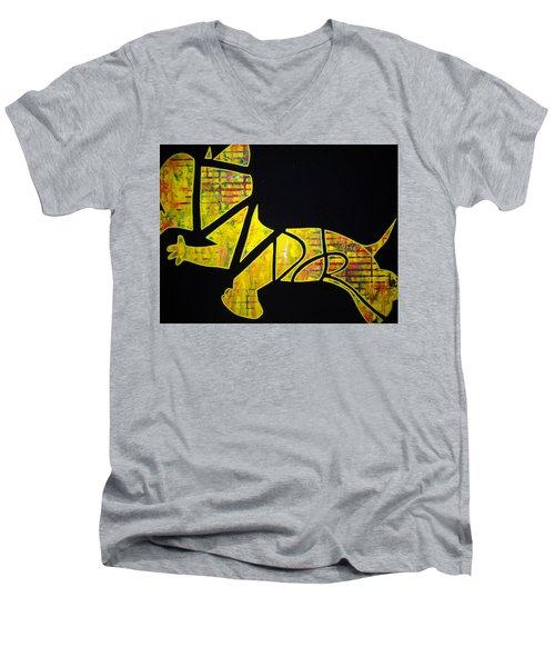 The Djr Men's V-Neck T-Shirt