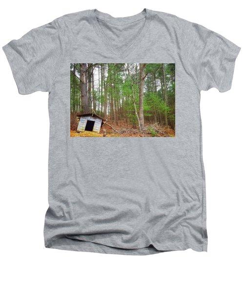 The Doghouse  Men's V-Neck T-Shirt
