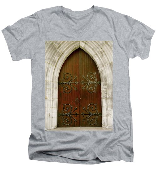 The Door Of Opportunity Men's V-Neck T-Shirt