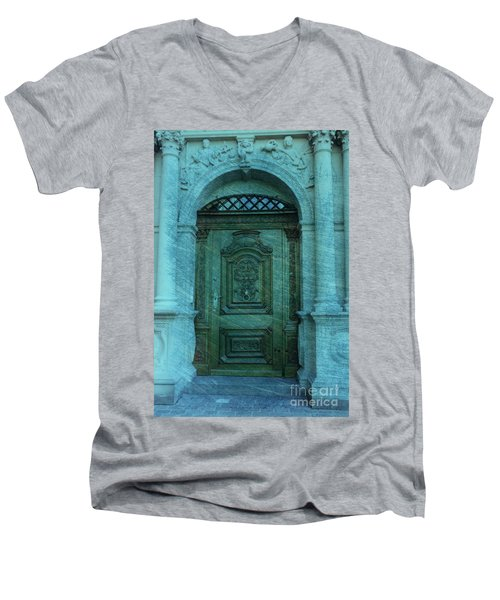 The Door To The Secret Men's V-Neck T-Shirt