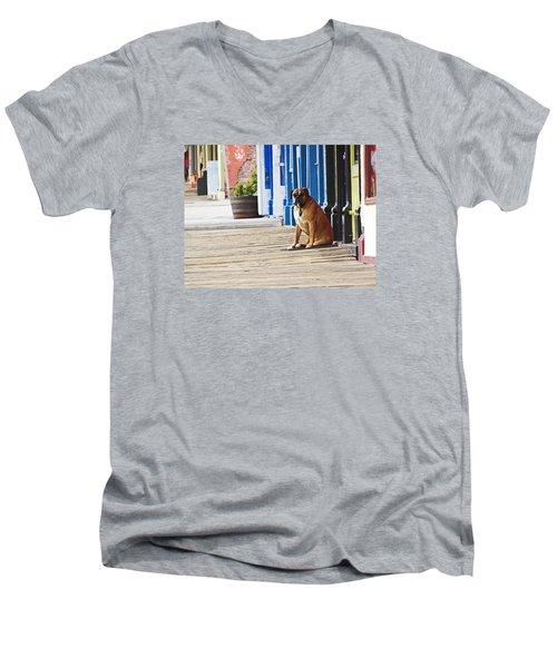 The Doorman Men's V-Neck T-Shirt