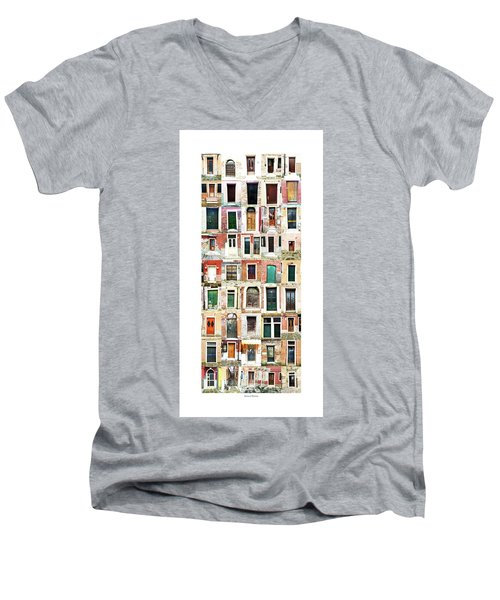 The Doors Of Murano Italy Men's V-Neck T-Shirt