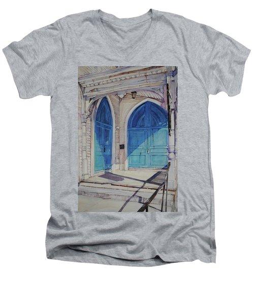 The Doors Men's V-Neck T-Shirt