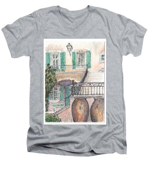 The Dora Maar Residency Men's V-Neck T-Shirt