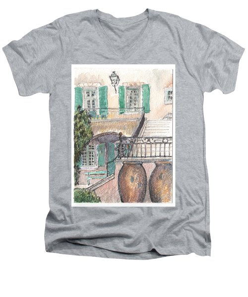 The Dora Maar Residency Men's V-Neck T-Shirt