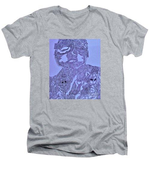 The Dreaming Man Men's V-Neck T-Shirt