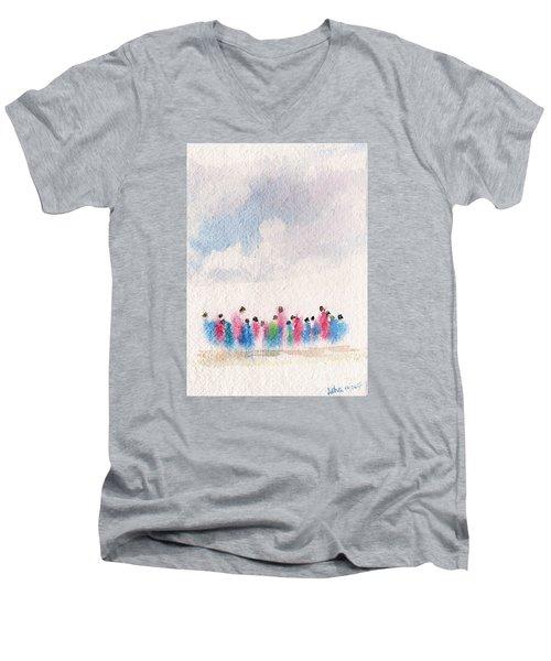 The Drifting People Men's V-Neck T-Shirt