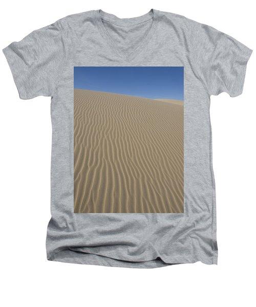 Men's V-Neck T-Shirt featuring the photograph The Dune by Tara Lynn