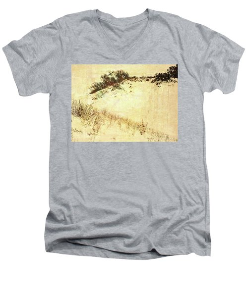 The Dunes Men's V-Neck T-Shirt