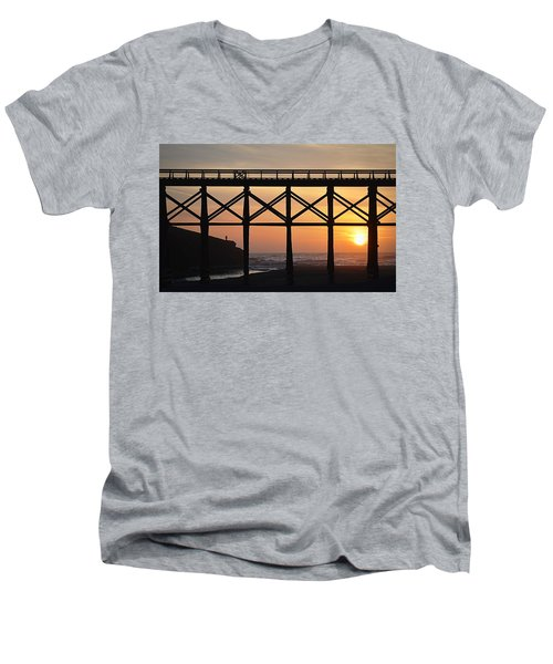 The Edge Of Night Men's V-Neck T-Shirt
