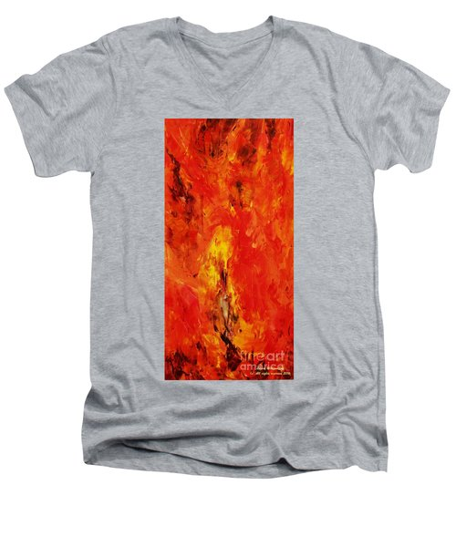 The Elements Fire #1 Men's V-Neck T-Shirt