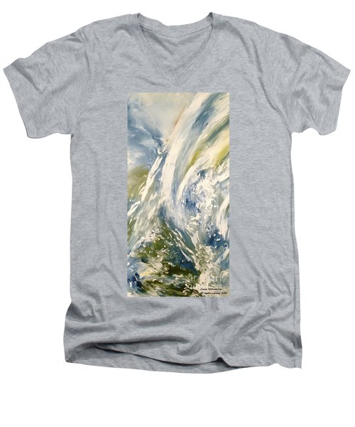 The Elements Water #1 Men's V-Neck T-Shirt
