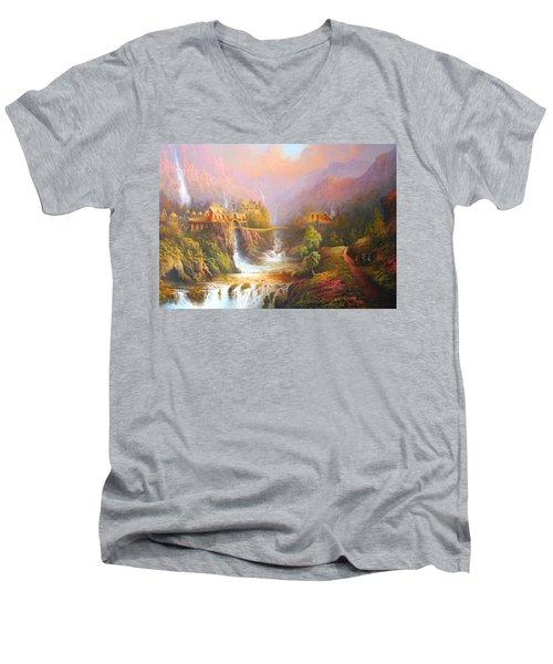 The Elves Kingdom Men's V-Neck T-Shirt