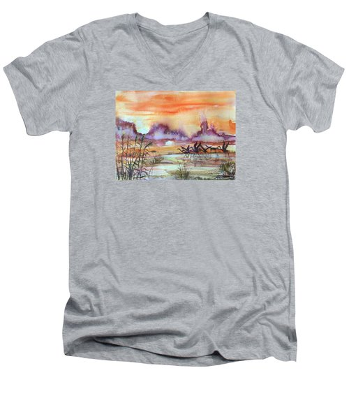 The End Of The Day 2 Men's V-Neck T-Shirt