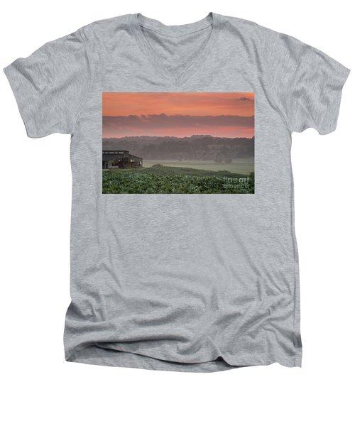The English Landscape 2 Men's V-Neck T-Shirt