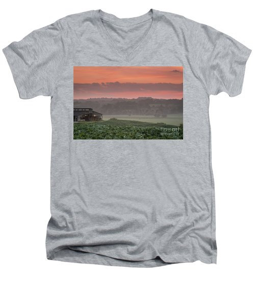 The English Landscape 2 Men's V-Neck T-Shirt