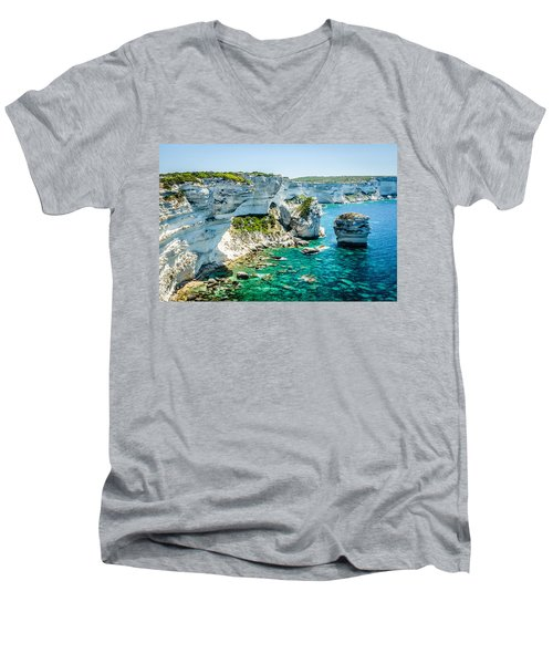 The Erosion Men's V-Neck T-Shirt