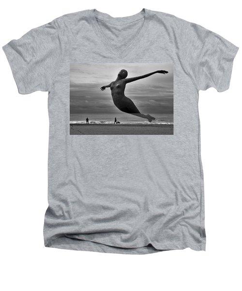 The Estranged Ocean Men's V-Neck T-Shirt