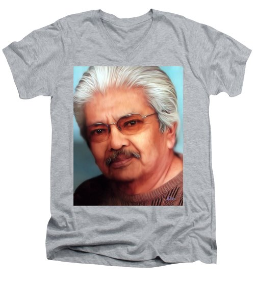 The Eternal Ray Men's V-Neck T-Shirt